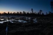 Moor in der Nacht