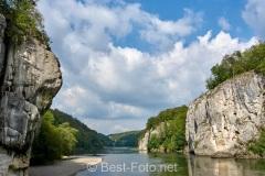 Radtour an der Donau - im Donaudurchbruch