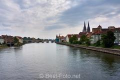 Radtour an der Donau -