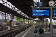 Radtour an der Donau - Abfahrt in Aachen HBF