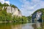 Radtour an der Donau - Donaudurchbruch bei Weltenburg
