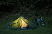 Radtour an der Donau - Passau campen an der Ilz
